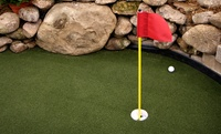 Mini Golf and Bowling for Two or Four with Pizza and Soda at Ship Wreck Miniature Golf (Up to 57% Off)